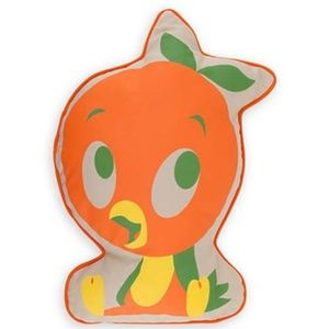 NWT Disney Parks Orange Bird Pillow Cushion